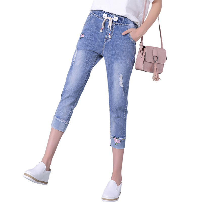 Popular Denim Capris-Buy Cheap Denim Capris lots from China Denim ...