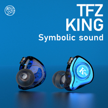 KING/HiFi Monitor In ear Earphones Semi-metallic sound cavity HIFI Bass Noise Cancelling Earbuds 3.5mm In-ear Stereo
