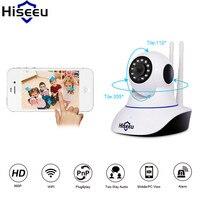 Hiseeu Camara De Vigilancia HD 960P Wired IP Network Endoscope Baby Monitor Night Vision Camaras De
