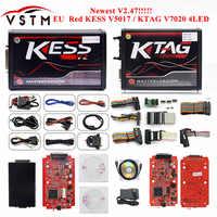 No Need Keygen KESS V2.47 Online For RED KESS V2 V5.017 Unlimited SW 2.47 Add More Car&Protocol OBD2 ECU Chip Tuning Tool