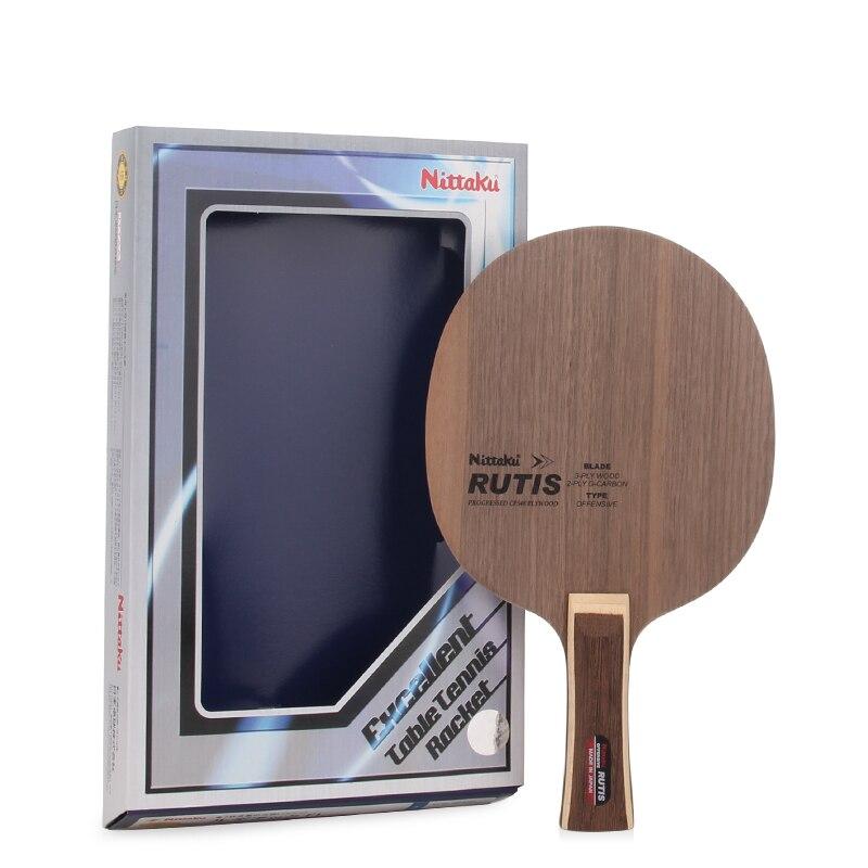 89612acfee NITTAKU RUTIS Carbon mesa de Ping Pong NC-0148 Ma largo raqueta Ping Pong  Bat