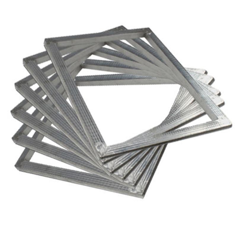 6 pcs 10 5 x15 27x39cm aluminum frame silk screen printing plate make brandnew in binder index. Black Bedroom Furniture Sets. Home Design Ideas