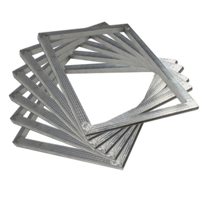 6 pcs 105x15 27x39cm aluminum frame silk screen printing plate make brandnew