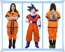 Two Style Kids Adult Dragon Ball Z Son Goku Cosplay Costume Full set For Halloween Party  sc 1 st  AliExpress.com & Dragon Ball Kids Cosplay Promotion-Shop for Promotional Dragon Ball ...