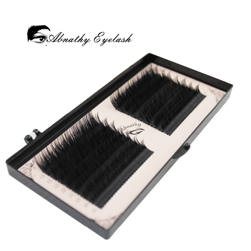 f0994c05797 16 lines 0.05/0.07/0.10/0.015 3D-6D Volume False Eyelash Extension Mixed  Lengths in One Strip Fancy Packing