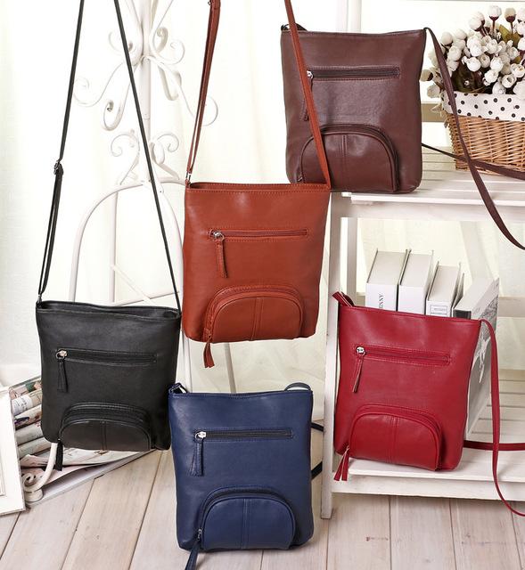 2017 women messenger bags women Shoulder Bags clutch tote leather handbags women bag ladies famous brands bolsa feminina