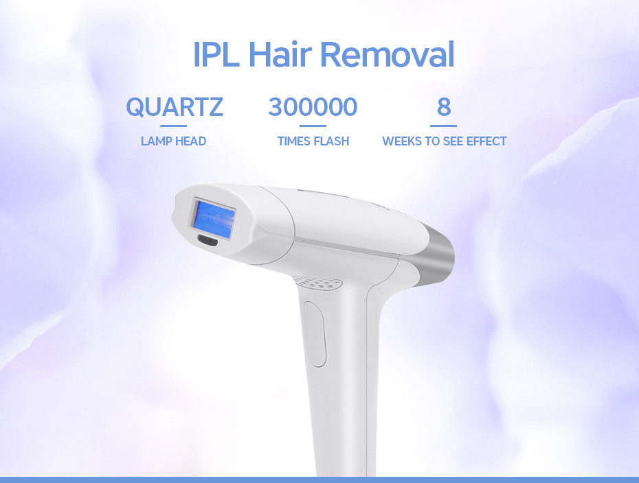 Laser Permanent Hair Removal flash features
