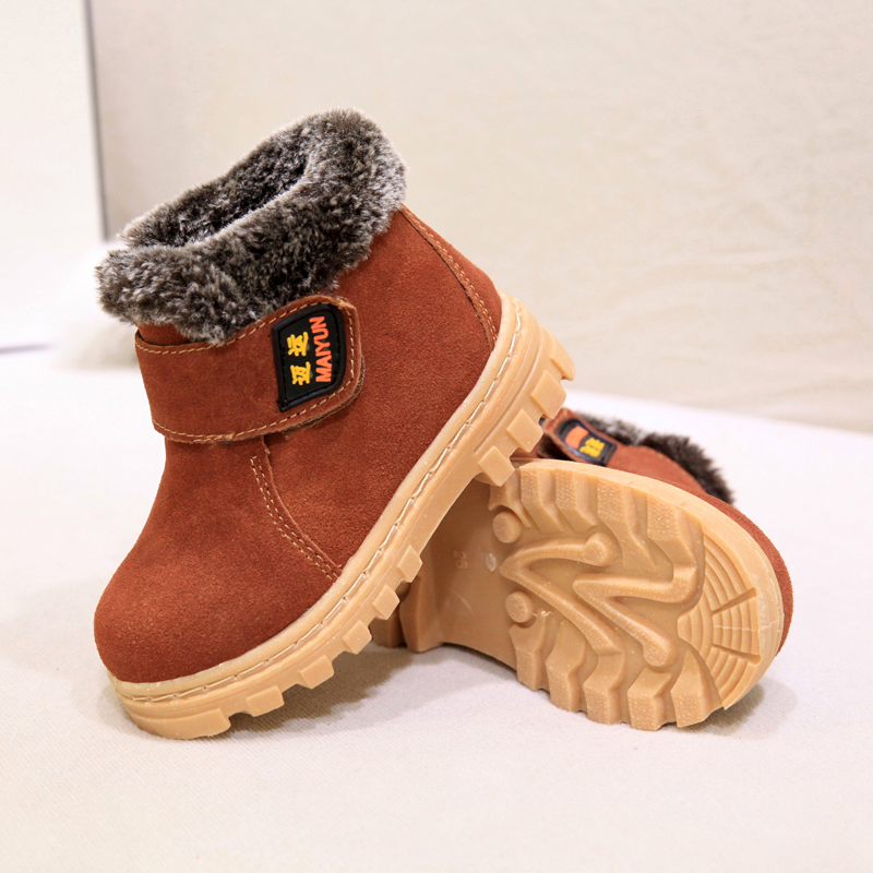 Xemonale-Children-Boots-Boys-Girls-Winter-Snow-Boots-Plush-Lined-Cow-Leather-Waterproof-Baby-Shoes-Kids-Martin-Sneakers-Oxford-5