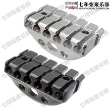 Four strings silvery copper cover black frame electric guitar twin coil pickup 50MM and 52MM as 1 set