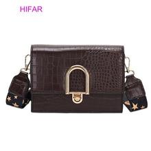 Fashion Simple Women's Designer Handbag 2019 PU Leather Women Crossbody Bag Tote bag Crocodile Pattern Shoulder Messenger Bag