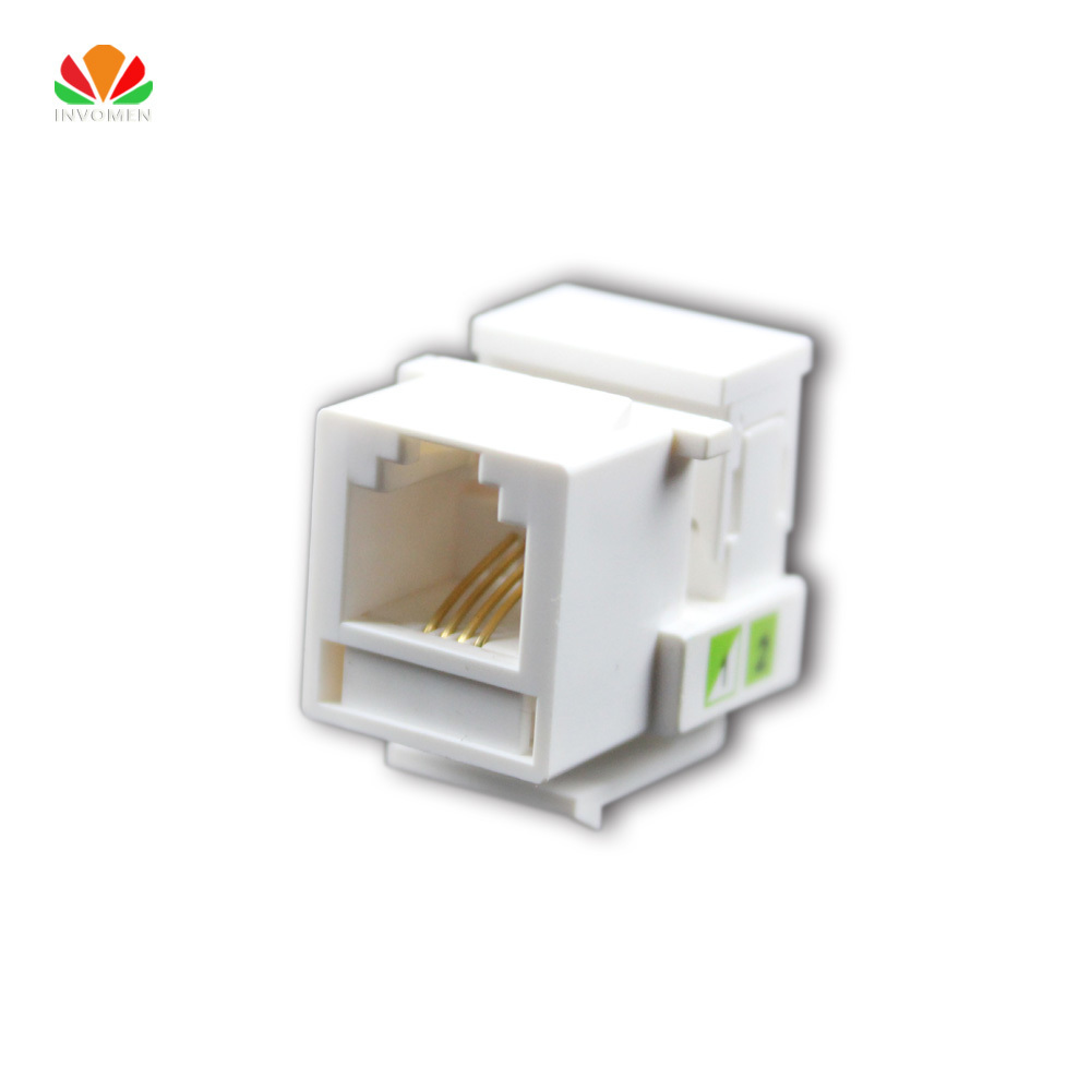 Utp Rj45 Connector Cat6 Module Information Socket Computer Outlet Cat 3 Jack Wiring Diagram Voice Hot 5pcs Tool Free Telephone Rj11 4 Wire Cable Adapter Telecom