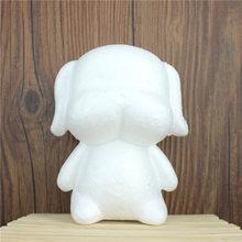 1 sztuk 115mm modelowanie styropianowe kulki z pianki dla psów białe kulki rzemiosła dla majsterkowiczów Christmas Party materiały dekoracyjne prezenty tanie tanio foam model 1 szt