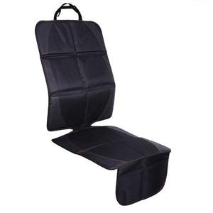 Image 4 - 123*48cm אוקספורד כותנה יוקרה עור רכב מושב מגן ילד תינוק אוטומטי מושב מגן מחצלת הגנה משופרת עבור מכונית מושב