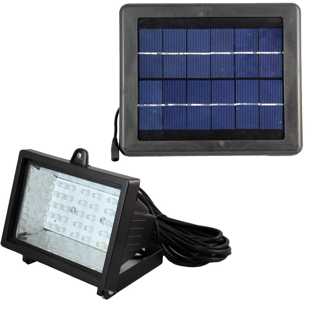 40pcs led solar powered lamp solar flooded led light warm for Outdoor lighting led spotlights