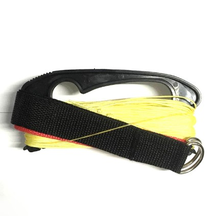 New Arrive High Quality 30m  Strong Fiber Lines For  Dual Line Parafoil And Stunt Kites  With Two Straps