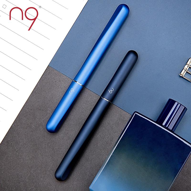 Livraison gratuite N9 Style chinois Tai Chi Iridium or stylo hommes d'affaires Signature stylo étudiants avec stylo plume