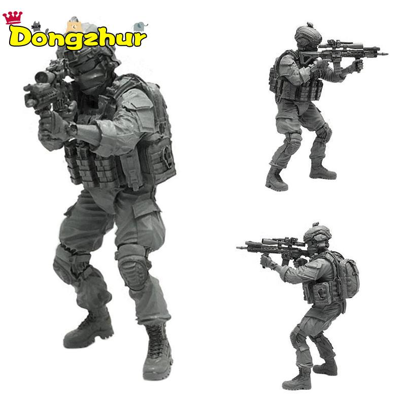 Miniature 1/35 Modern U.S Army Special Forces Sniper Individual Soldier Resin Model Figure Kit TLP-04Miniature 1/35 Modern U.S Army Special Forces Sniper Individual Soldier Resin Model Figure Kit TLP-04
