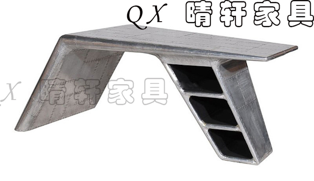 iron industrial furniture. Continental Iron Industrial Furniture Designer And Creative Personality Retro Leather Desk Space Aluminum Aircraft Units