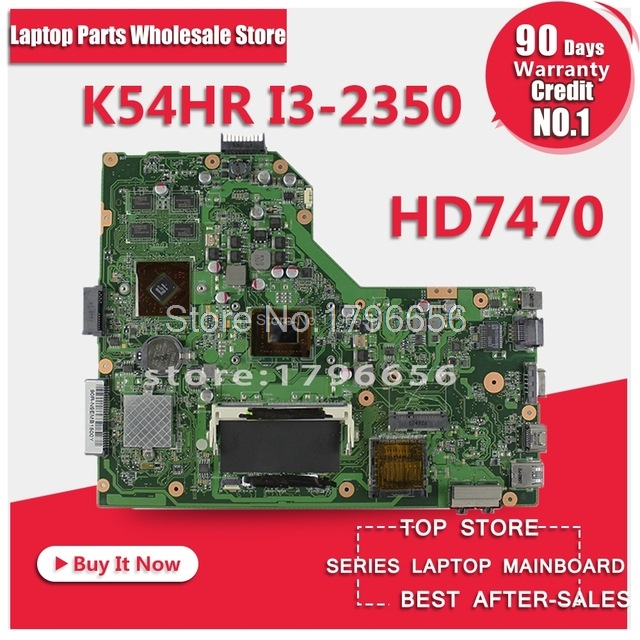 US $78 12 7% OFF|K54HR X54HR I3 CPU Laptop Motherboard For ASUS X54H X54HR  Motherboard Full tested ok Months Warranty Motherboard-in Motherboards from
