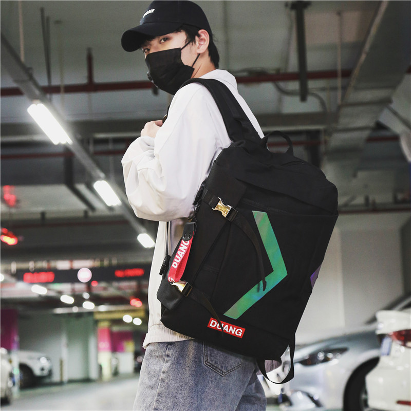Backpack Men's Leisure Backpack Computer Bag Capacity Travel Bag Chaozhou Brand Men's Fashion Trend College Students'Bookbags 1