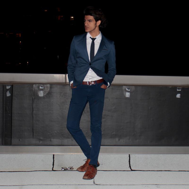 Novi Slim Fit Casual jakna pamuk Muška jakna jakna jedan gumb Siva - Muška odjeća - Foto 5