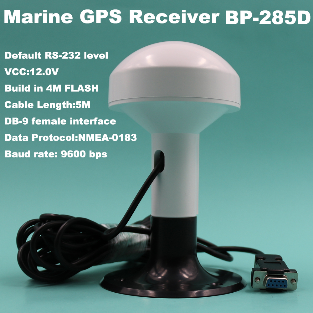 BEITIAN Marine ship GPS receiver NMEA 0183 baud rate 9600 DB 9 Female connector 12V RS