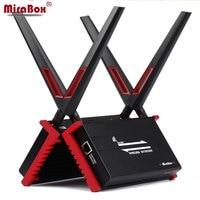 MiraBox Wireless HDMI Extender Support IR 1080P Loop out Wireless Transmit 300m 984ft HDMI Wireless Extender Through Glass Wall