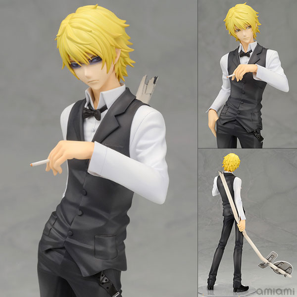 Anime DuRaRaRa!! Heiwajima Shizuo Renewal Ver. 1/8 Scale PVC Action Figure Collectible Model Toy 22cm KT1761 free shipping anime shining hearts melty granite ice cream ver 1 8 scale sexy action figure collectible model toy 8 20cm