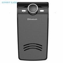 Bluetooth car kit HD Мобильный Телефон Спикер Портативный Автомобильный Bluetooth Козырек Mp3-плеер для iphone/Samsung-Черный