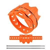 Tubo de escape silenciador protetor protetor protetor protetor para ktm exc sx sxf xcf excf xcfw 125 200 250 300 350 400 450 525 530|Molduras ornamentais e capas| |  -