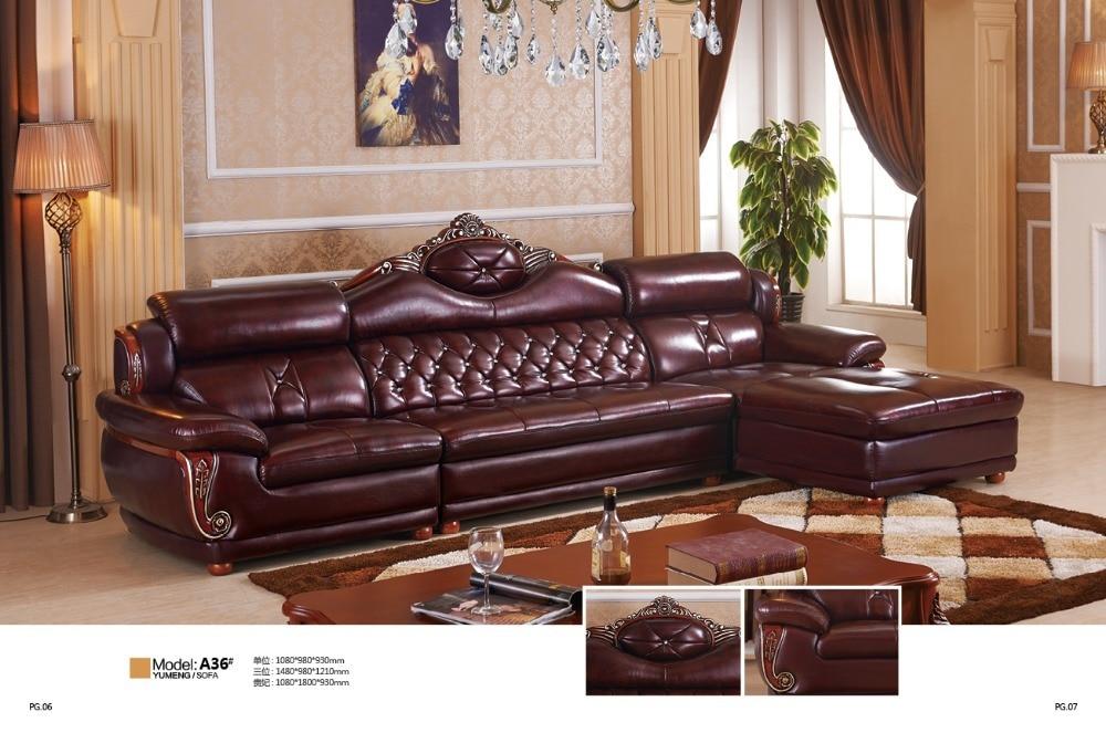 New Leather Sofa Italian Sofa 2017 New Design Clic 1 2 3