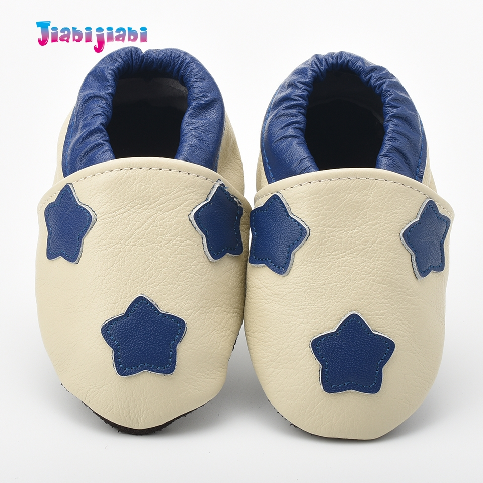 0-2T Toddler Boys Girls 5-Star Pattern Prewalkers Cuero Shallow - Zapatos de bebé