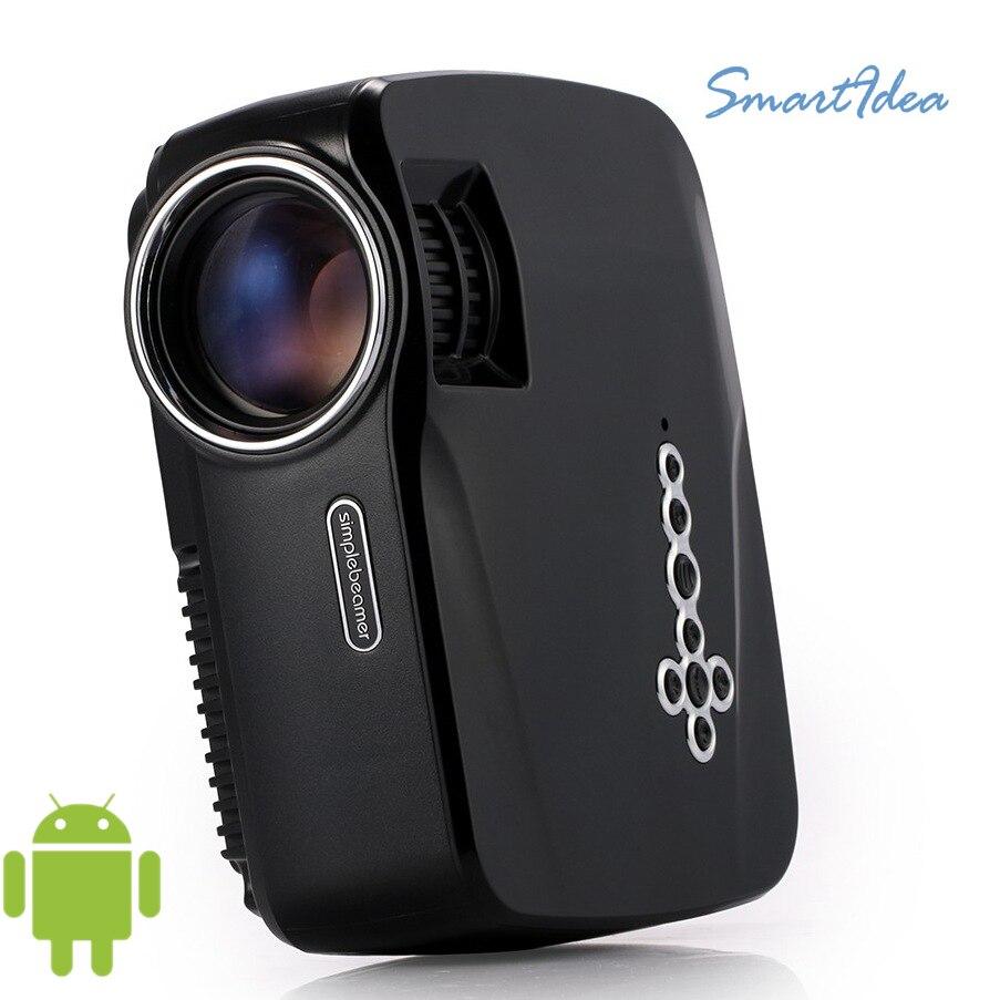 Free shipping original gp70up mini smart projector hd home for Mini smart projector