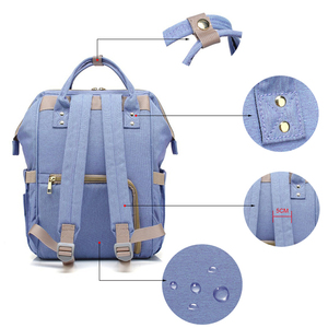 Image 4 - Sac à langer de grande capacité pour maman, sac à dos de voyage pour bébé, pour bébé, rangement pour biberons, T0567
