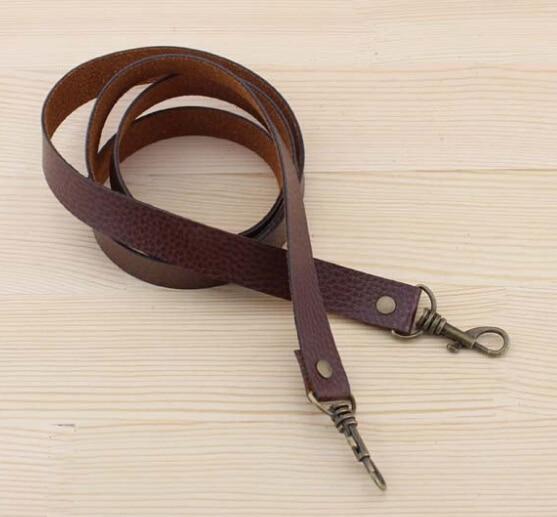 50cm long 10pcs brown PU lether DIY purse strap handbag handles accessories for crafts patchwork