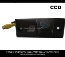 HD!! Car Rear View Parking CCD Camera For PORSCHE CAYENNE VW SKODA FABIA TIGUAN TOUAREG POLO