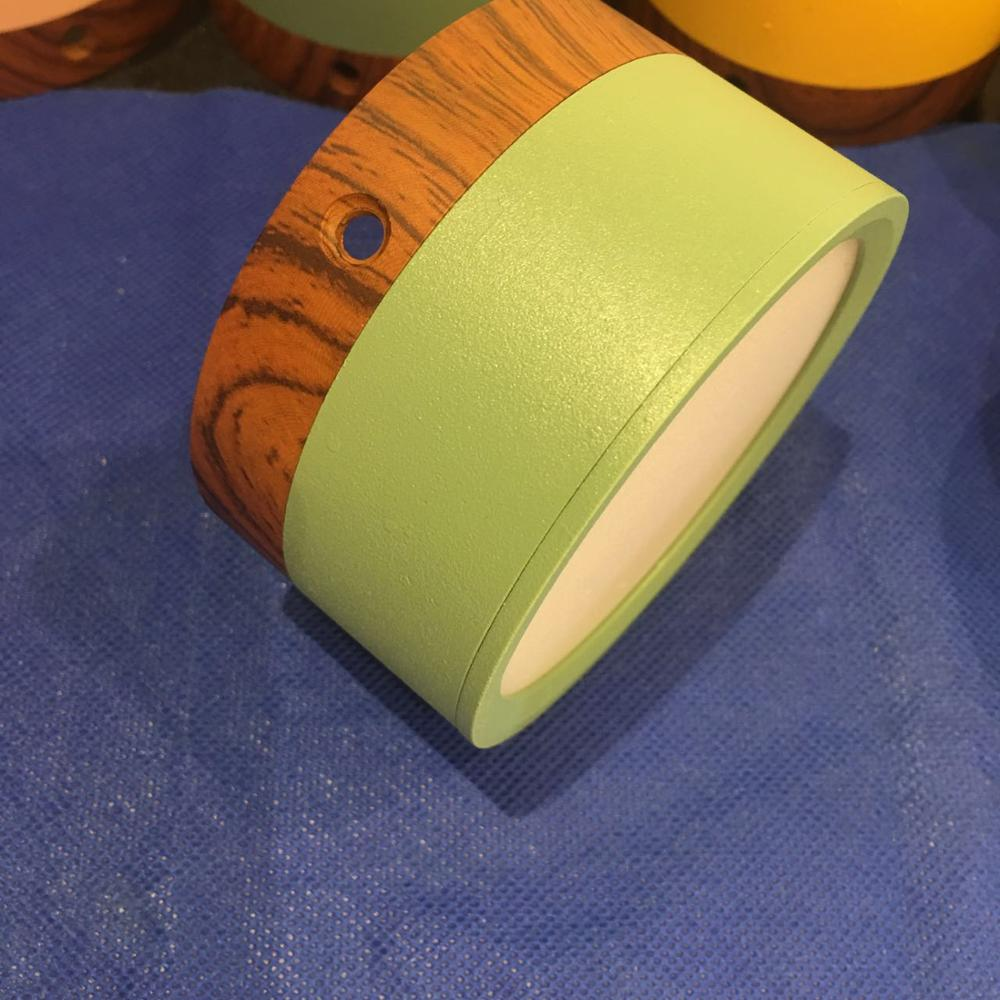 2019 new design Luminaire Para Teto 1pcs 85 265v 5w7w green body Recessed smdLed Downlight Spot Light Ceiling Down Lamp in Ceiling Lights from Lights Lighting