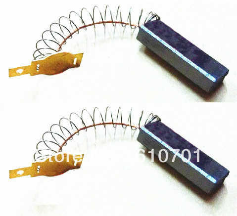 """2 個春とワイヤ 6.3 × 11 × 32 ミリメートル電動グラインダーーターカーボンブラシパワーツール 15/64"""" x7/16 """"x1.26"""" 集塵機クリーナー"""