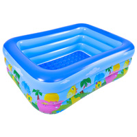 Children's Home Use Paddling Pool Large Size Inflatable Square Swimming Pool Heat Preservation Kids inflatable Pool Dropshiping