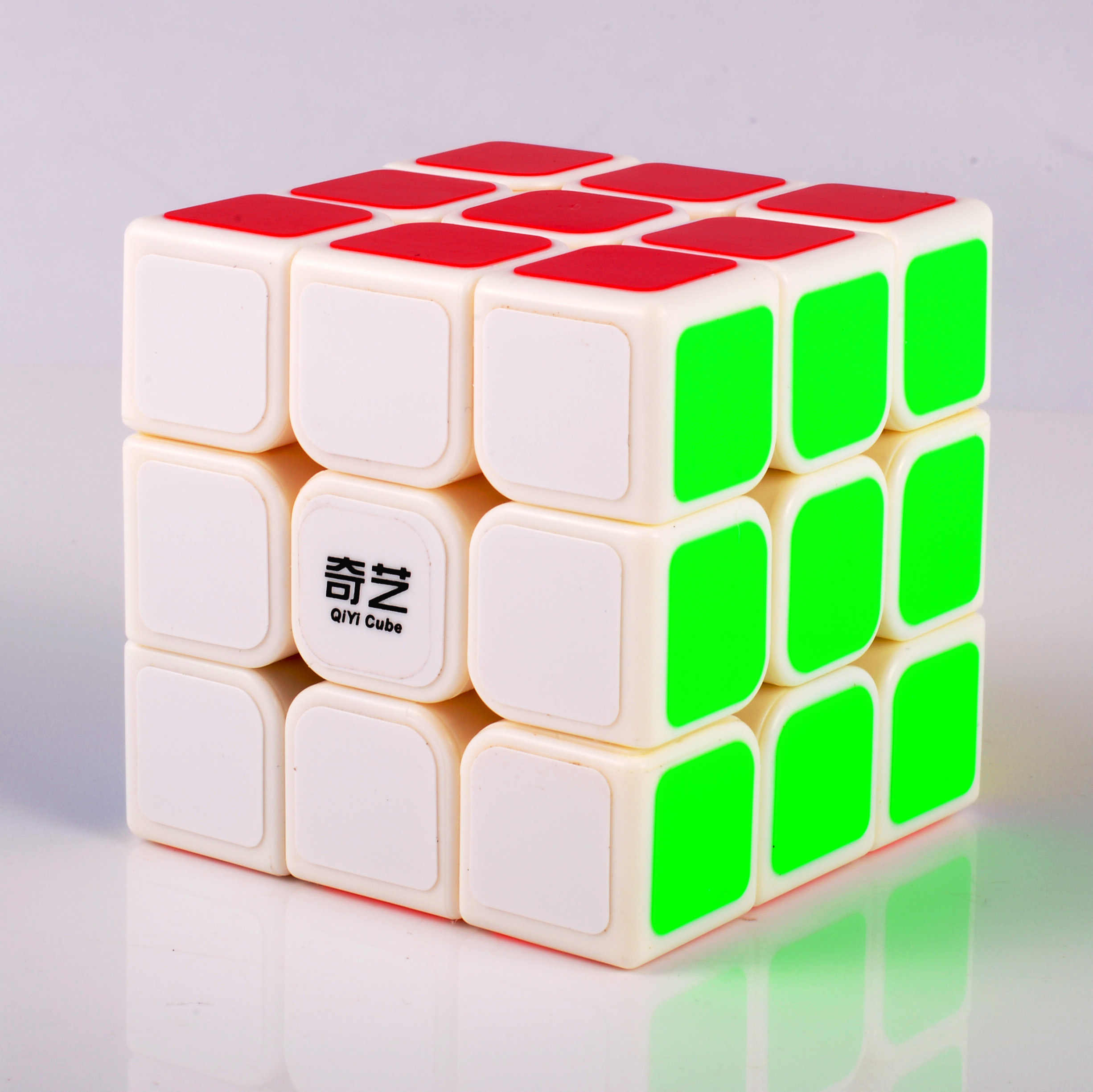 Qiyi Cube Magico Cubes Professional 3x3x3 Cubo Sticker Speed Twist Puzzle  Educational Toys For Children Gift Rubiking Cube