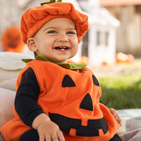 Halloween costume for kids Newborn Baby boy Girl Pumpkin Tops Outfit Party Fancy Dress Clothes Cute children Clothing 0 3T