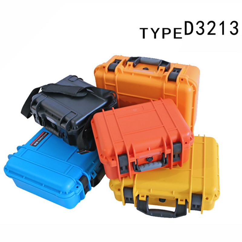 Tool Case Waterproof Impact Resistant Safety Case Suitcase Toolbox File Box Equipment Camera Case With Pre-cut Foam Lining