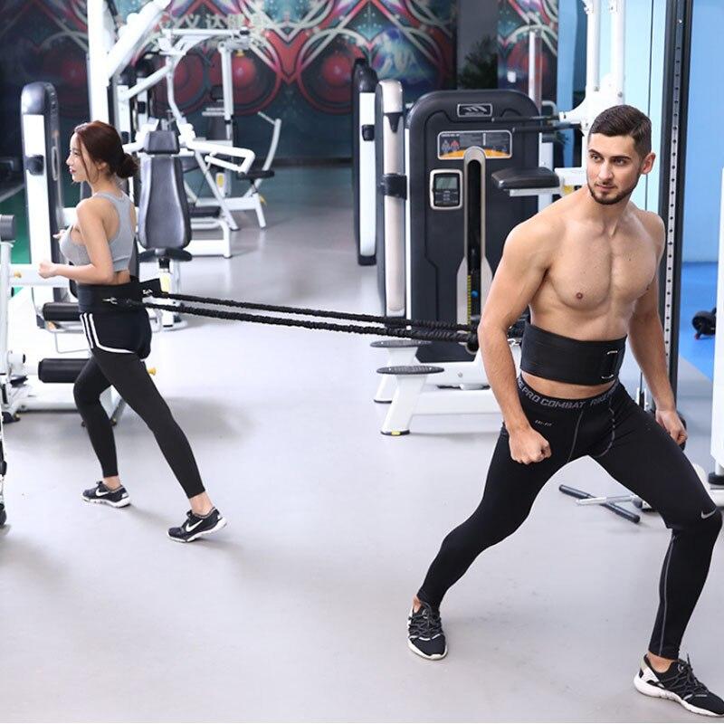 CIMA эспандерами Талии Запуск прыгать строка упражнения для баскетбола Футбол Crossfit Training Скорость ловкость ноги тянуть веревку