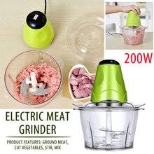 Пластик мясо блендер-Измельчитель овощерезка Еда домашние фрукты многофункциональная электрическая кухонные овощные Пособия по кулинарии