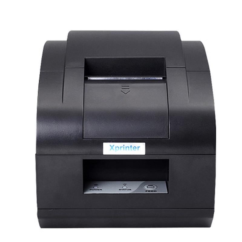 Xprinter 58mm Thermal Receipt Printer Bluetooth USB Port POS 58 Printer With Auto Cutter USB, Ethernet/LAN Port
