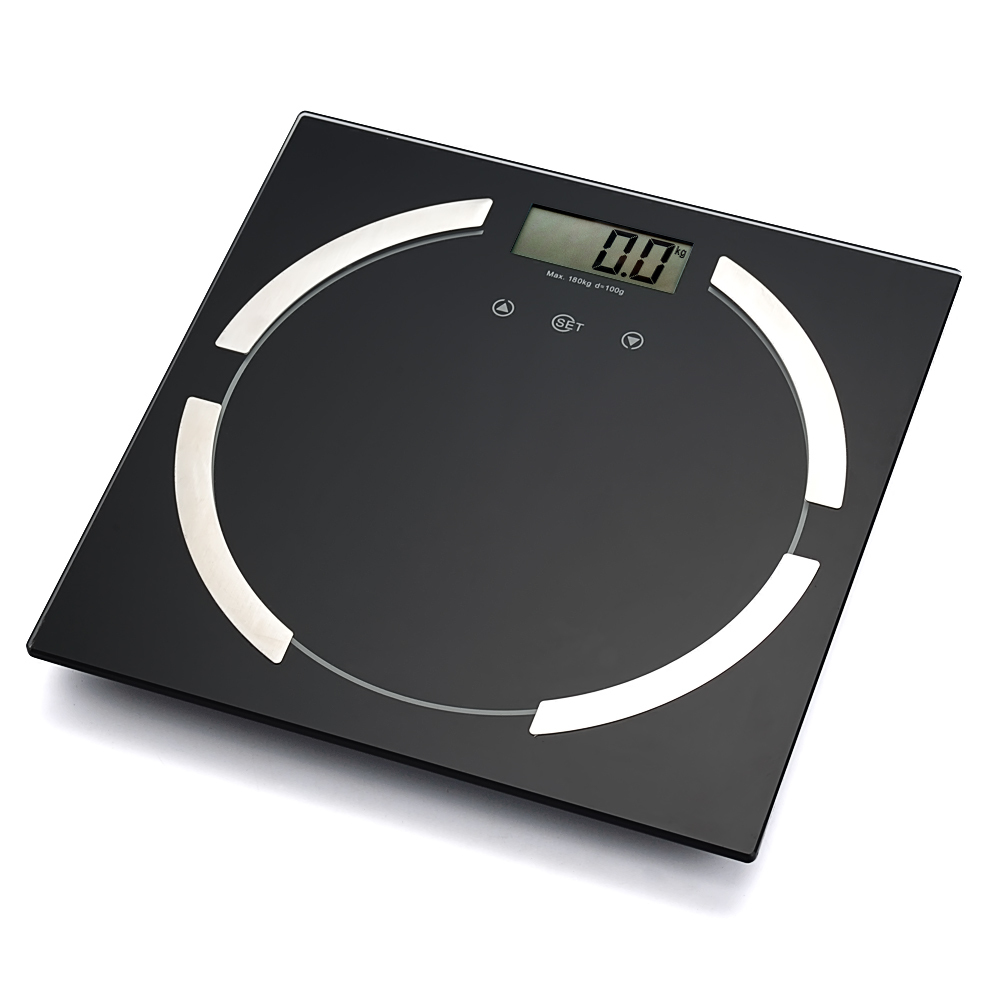 Bathroom scale body fat - Meilen Brand Electronic Digital Bathroom Scales Weight Body Fat Water Bone Muscle Calories Health Scale Suitable For Family In Bathroom Scales From Home