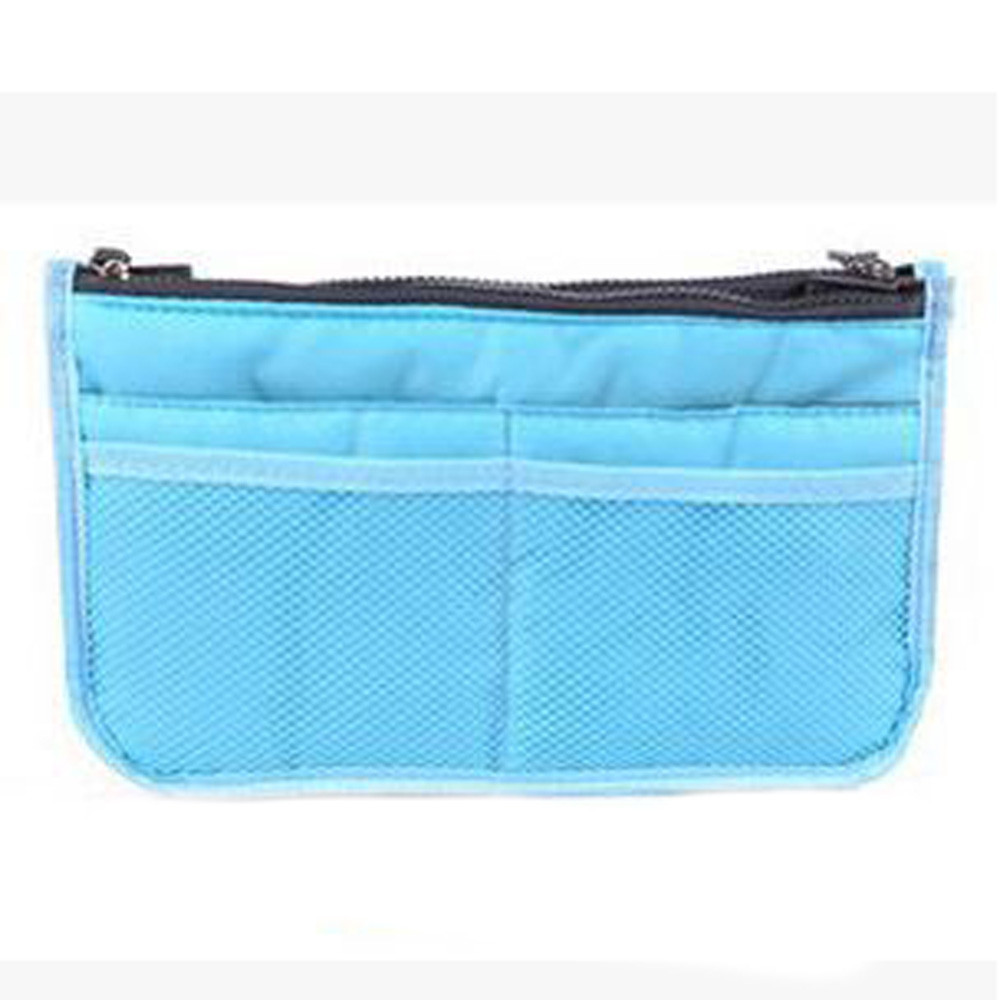 geekoplanet.com - Dual Zipper TravelToiletry Organizer
