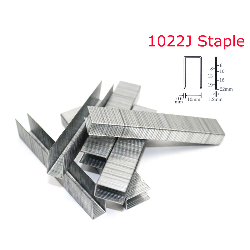 2000Pcs 1022J Stapler Nail For Framing Tacker 1022J Nailer Stapler Gun
