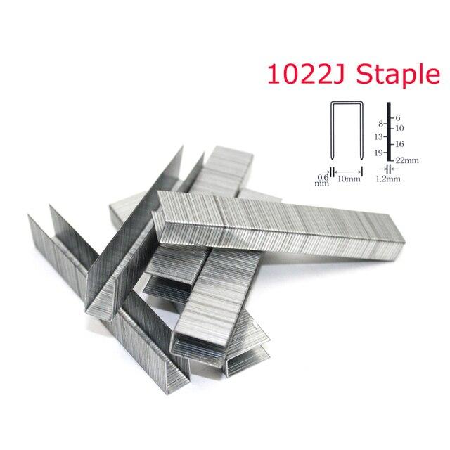 2000Pcs 1022J Stapler Nail For Framing Tacker 1022J Nailer Stapler Gun