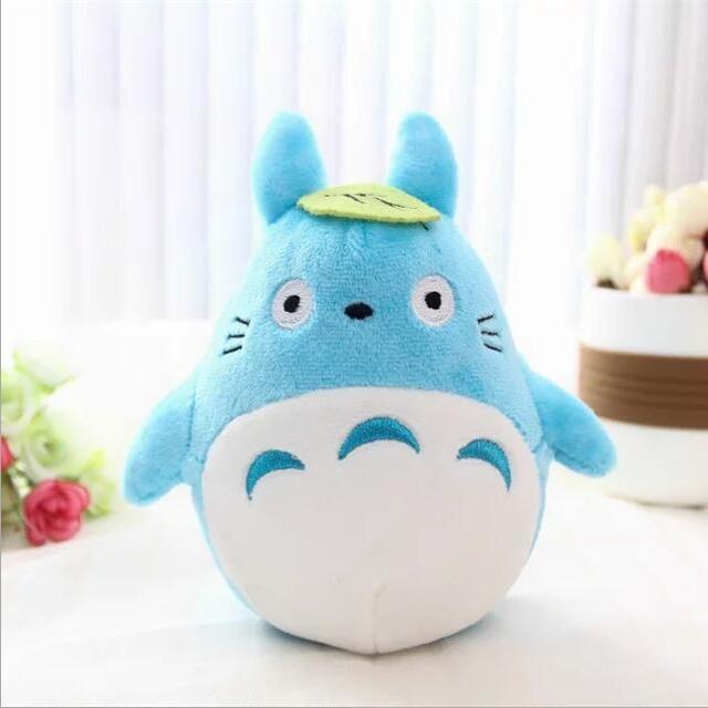 1pcs 15cm cute soft plush cartoon animal totoro car decorated toy gift